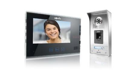 somfy video phone v200 v400 v600. Black Bedroom Furniture Sets. Home Design Ideas